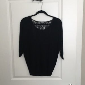 Express black sweater/blouse